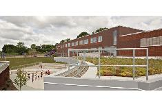 We offer construction management services for public schools like the one pictured here