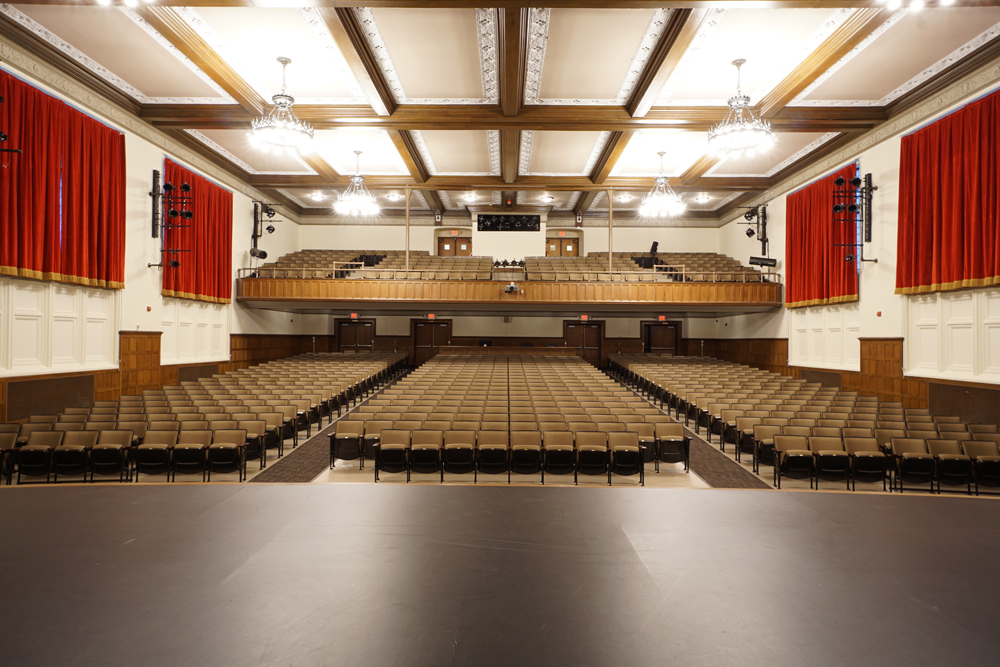 LCJ Middle School Auditorium. Summit Public Schools. Summit, NJ