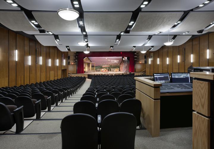 high school auditorium renovation summit public schools