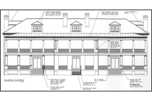 Historic Restoration Of Officer S Quarters Building 409