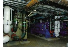 Centrifugal chillers at Essex County College