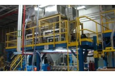 Polymer-Fragrance Extruder installation at IFF�s Hazlet, NJ