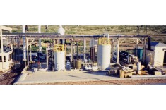 Linde Liquid Chemical Transfer Station in Lovington, NM