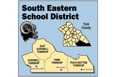 South Eastern School District map of schools