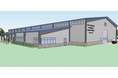 East Hanover Township Public Works Facility 3d rendering