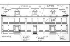 Historic Restoration of Officer�s Quarters, Building 409 Plan