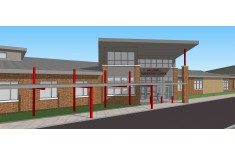 Hallowell Elementary School in Horsham, PA concept design